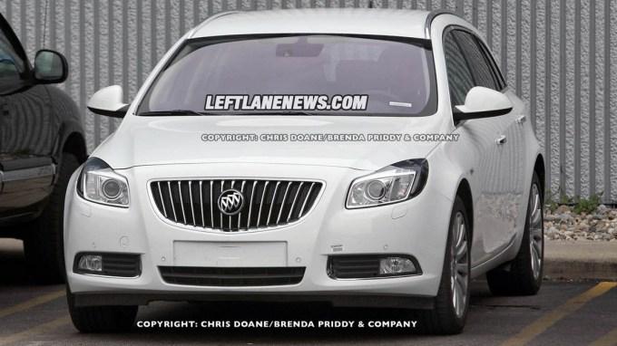 В США появится универсал Opel Insignia с шильдиком Buick