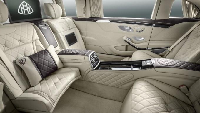 Российская презентация нового Mercedes-Maybach S600 Pullman