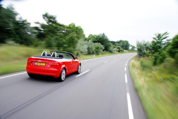 Audi A3 Cabriolet-тест драйв