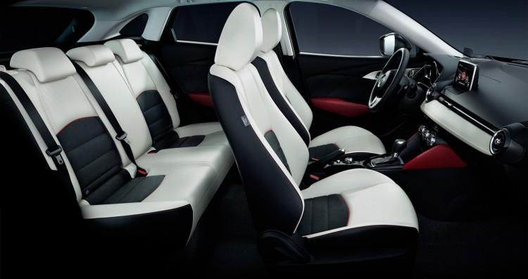 Салон Mazda CX-3 2015-2016