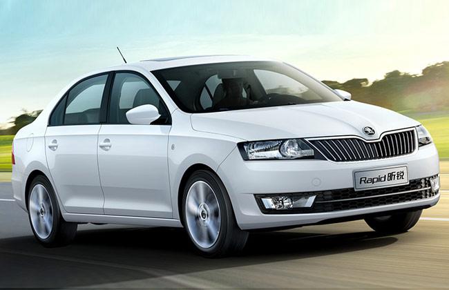 Тест=драйв нового автомобиля Skoda Rapid 2015-2016 года