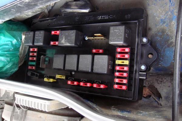 Блок предохранителей ВАЗ 2114