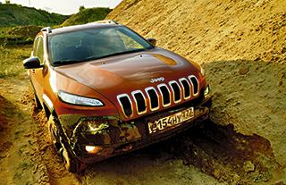 Сравнительный тест по бездорожью Land Rover Discovery и Jeep Cherokee