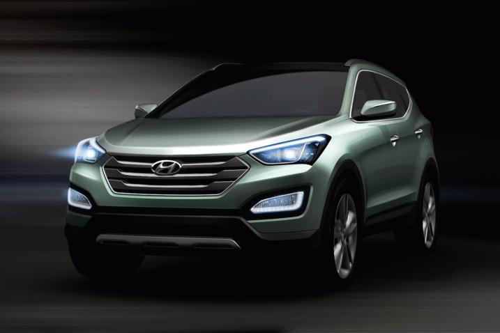 Новый облик Hyundai Santa Fe