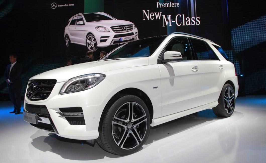 Mercedes-Benz M-Klasse - лучший вседорожник люкс 2015 года