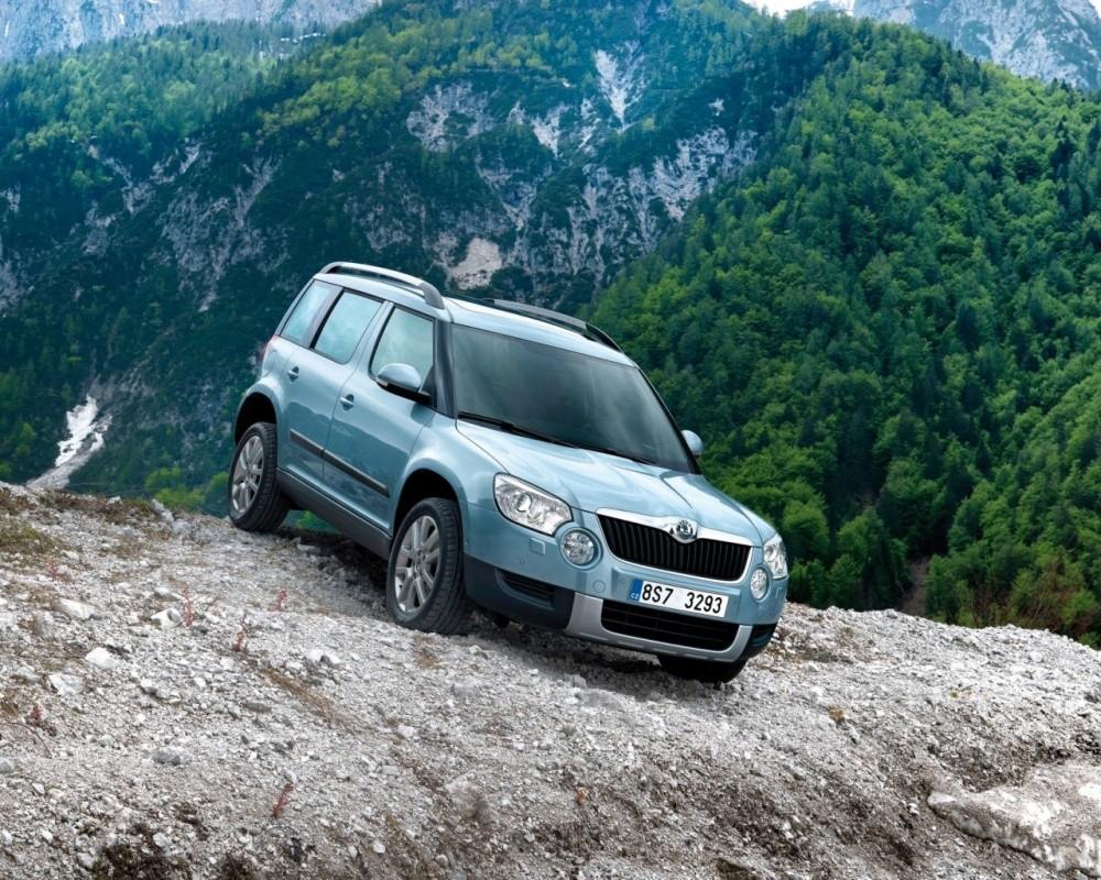 Skoda Yeti - практичный автомобиль, который найдет своих владельцев на мировом рынке