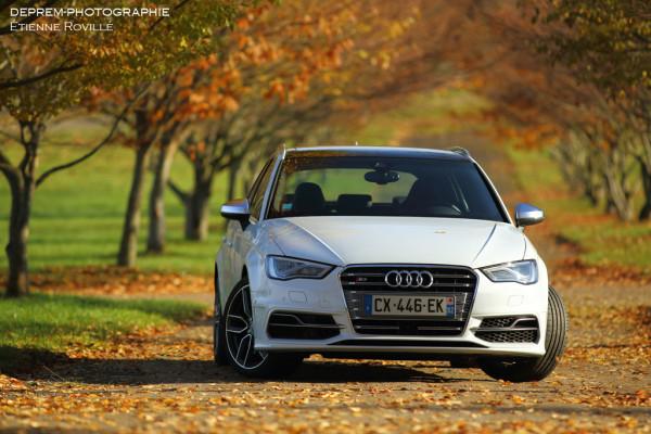обзор хэтчбек Audi S3