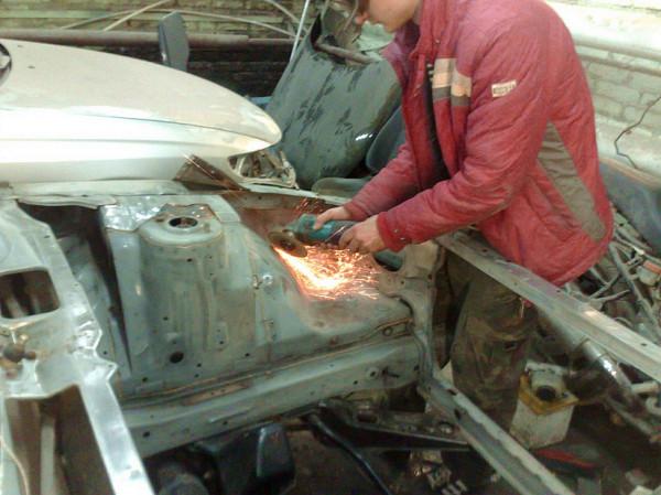 Усиление кузова автомобиля
