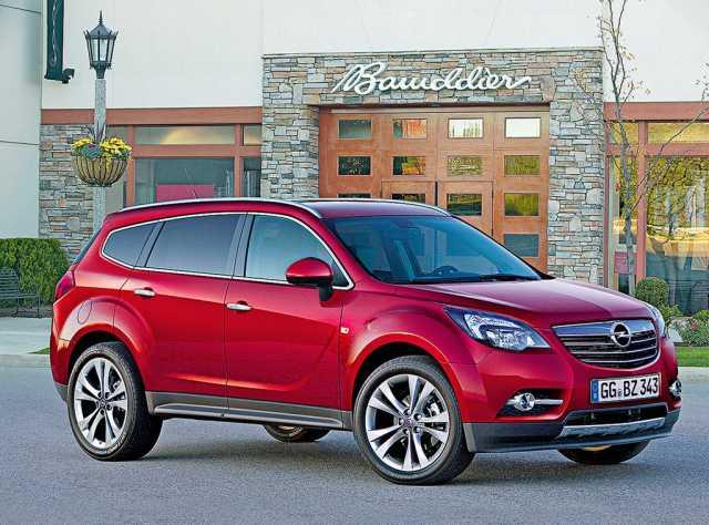 Особенности Opel Antara 2015-2016