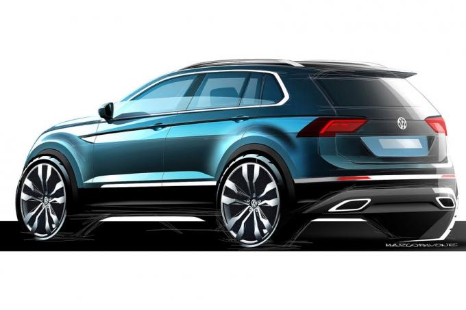 VW Tiguan заведет семью