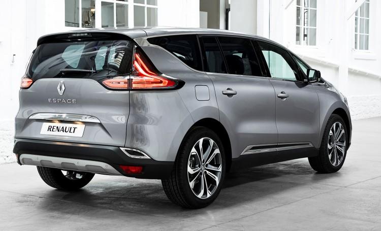 Renault Espace в новом кузове