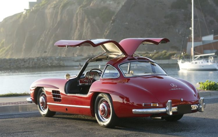 Автомобиль, ставший легендой - Mercedes-Benz 300SL 1955 года