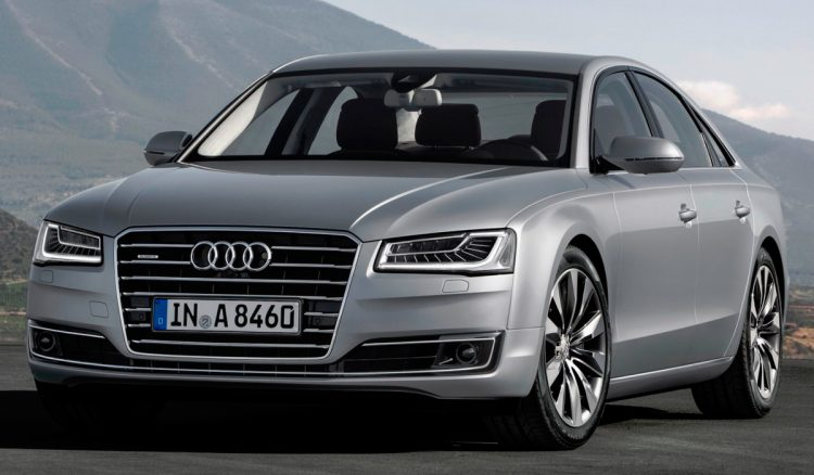 Audi A8 2016-2017 года выпуска
