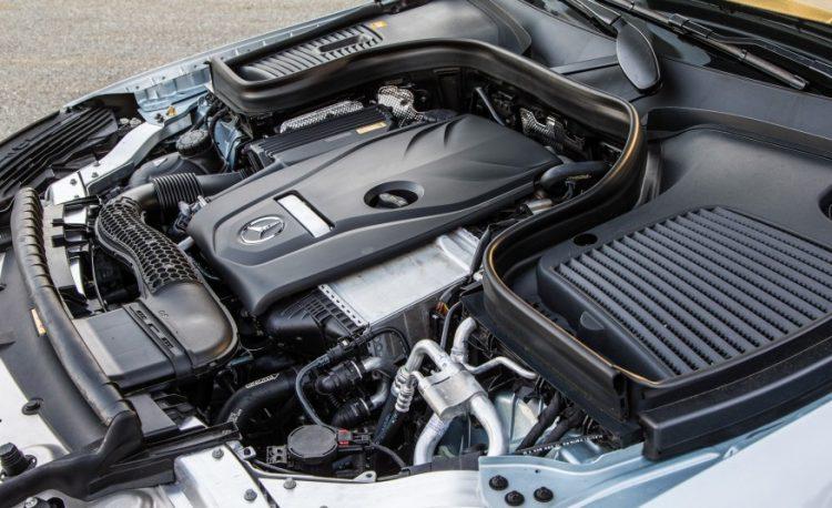 Двигатель Mercedes-Benz GLC300 4MATIC Coupe