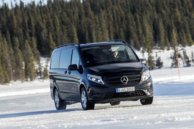 Пакетные решения на автомобили Mercedes-Benz Vito