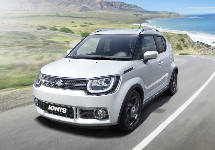 Новый Suzuki Ignis 2017 года