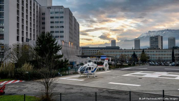 Michael Schumacher Unfall Krankenhaus Centre Hospitalier Universitaire Grenoble