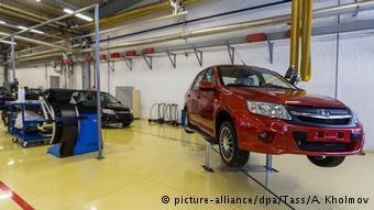 Линия по производству автомобилей Lada Granta