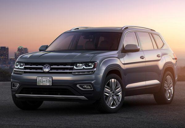 Volkswagen Atlas 2017-2018 года