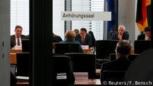 Berlin Angela Merkel, Untersuchungsausschuss VW-Skandal