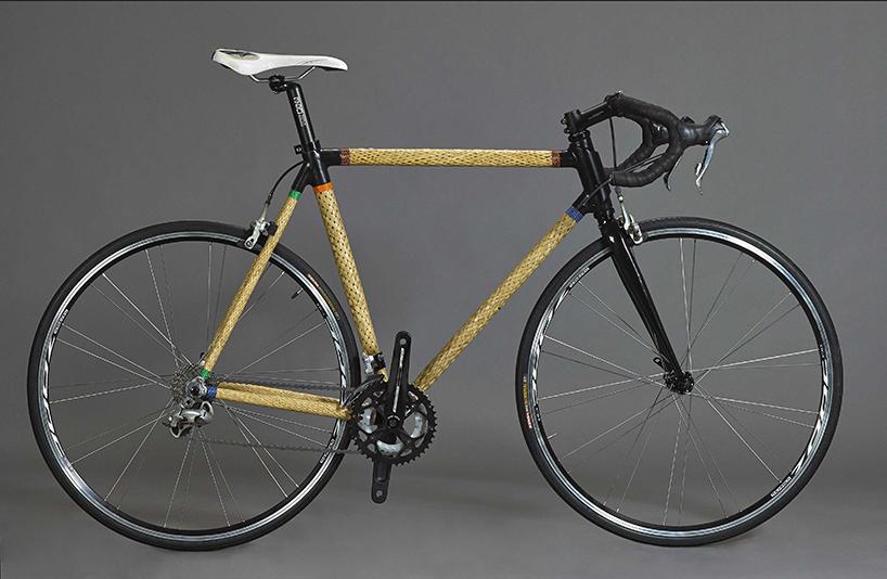 HERObike - велосипед из плетенного бамбука