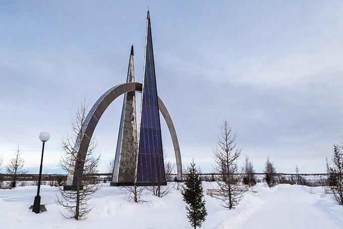 Салехард – единственный в мире город, расположенный прямо на Полярном круге