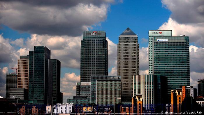 Высотные здания в Лондоне