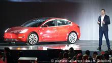 USA Fremont Vorstellung Tesla 3