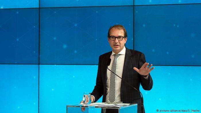Министр транспорта ФРГ Александр Добриндт рассказывает о ситуации в Volkswagen