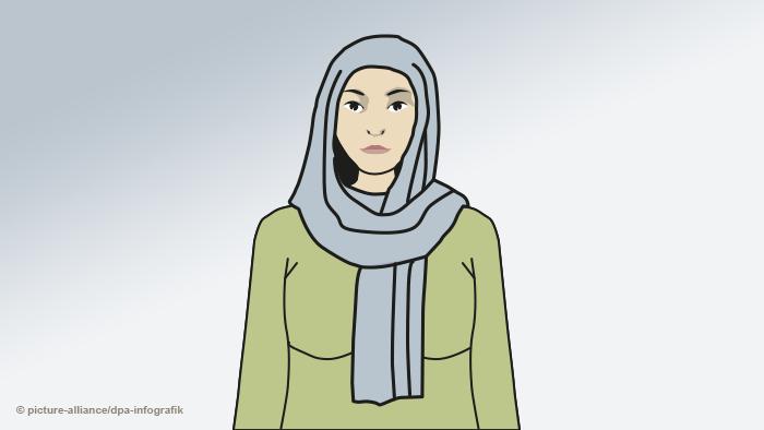 Женщина в шейле