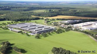 Завод Daimler по выпуску батарей для электромобилей в Каменце