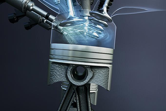 Турбодвигатель BoosterJet оснащен непосредственным впрыском и отличается умеренным расходом топлива. Оптимально настроенное давление наддува сводит на нет турбояму и обеспечивает повышенную отдачу при пиковых нагрузках