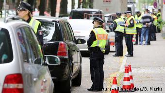 Проверка нарушителей запрета на дизели в Гамбурге