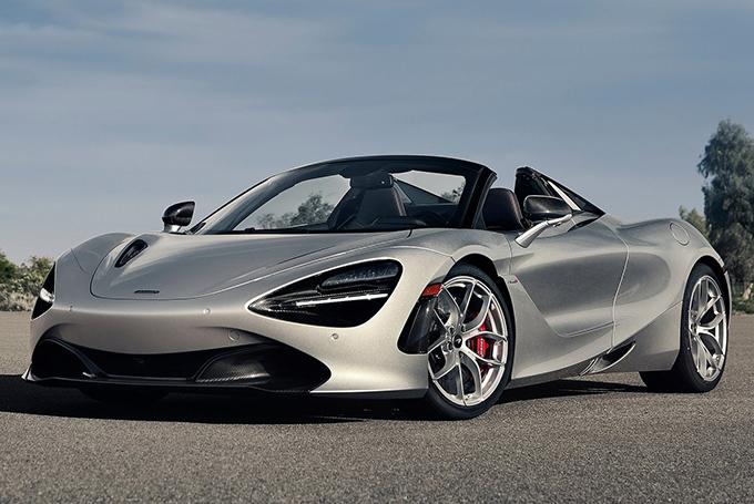 McLaren 720S Spider: 720 л.с./0-100 км/ч за 2,9 с/341 км/ч