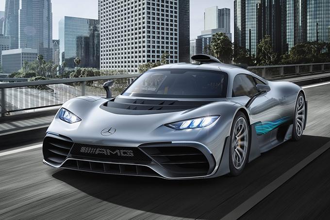 Mercedes-AMG Project One: 1034 л.с.(гибридная силовая установка)/0-100 км/ч н.д data-recalc-dims=