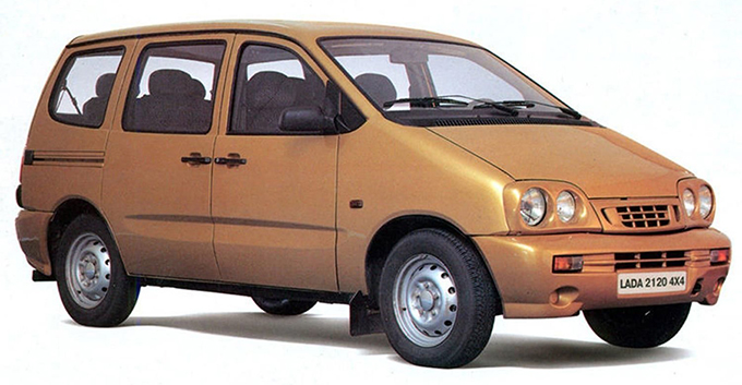 ВАЗ-2120 «Надежда», 1998 год