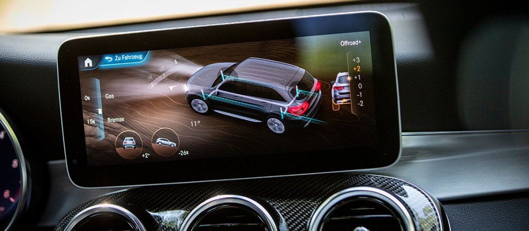 Mercedes-Benz GLC после рестайлинга: Теперь с ним можно поговорить!