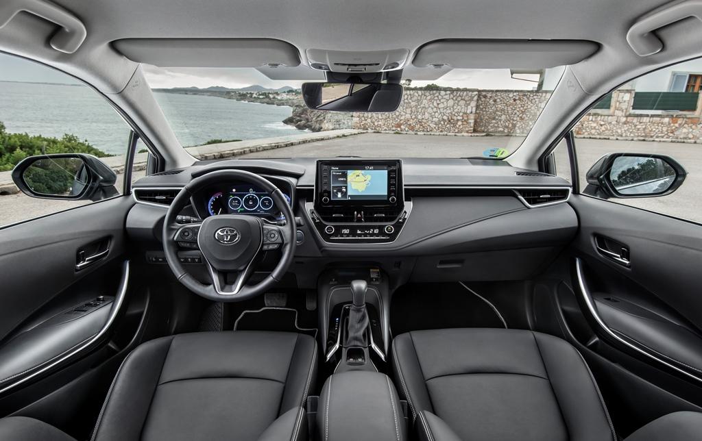 Toyota corolla 2019 | Салон Тойота Королла 2019