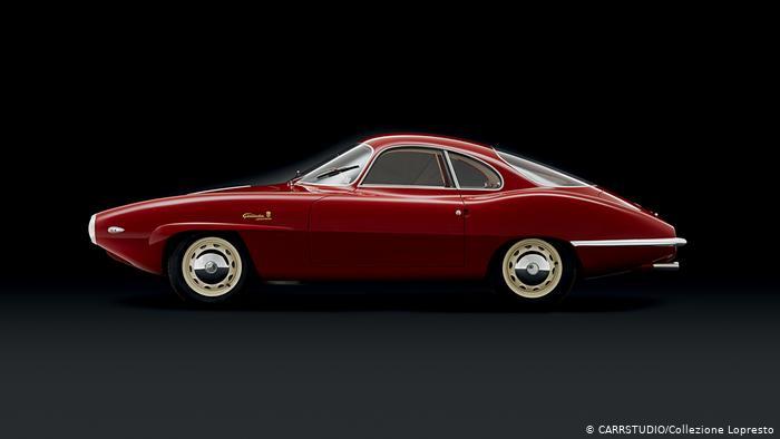 Alfa Romeo Giulietta Sprint Speciale (SS), Prototipo, 1957