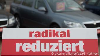 Плакат Радикальные скидки в автосалоне