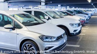 Белые Volkswagen