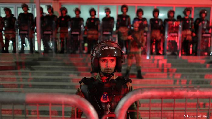 Полиция в Стамбуле