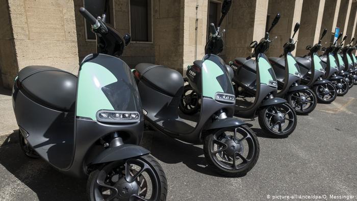 Е-мотоциклы и е-мотороллеры