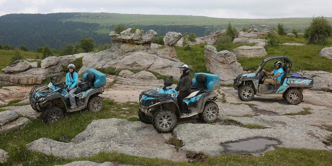 Путешествие с CF-MOTO: Каменные лабиринты Приэльбрусья