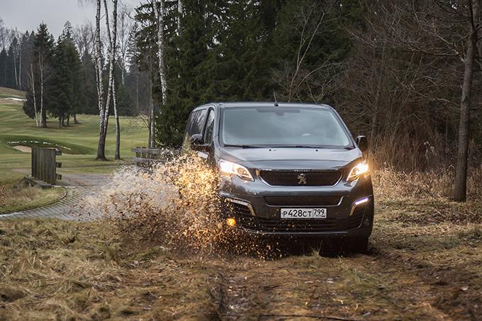 Peugeot Traveller 4х4