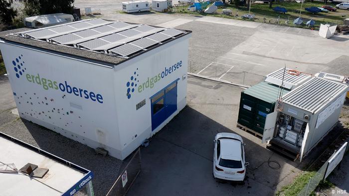 Пилотный проект Power-to-Gas в Рапперсвиле (Швейцария).