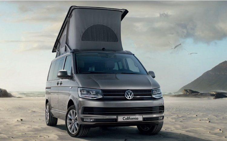 Новый Volkswagen California 2016-2017 года