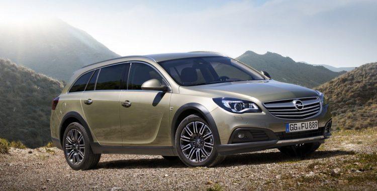 Opel Insignia Country Tourer (Опель Инсигния Кантри Турер)