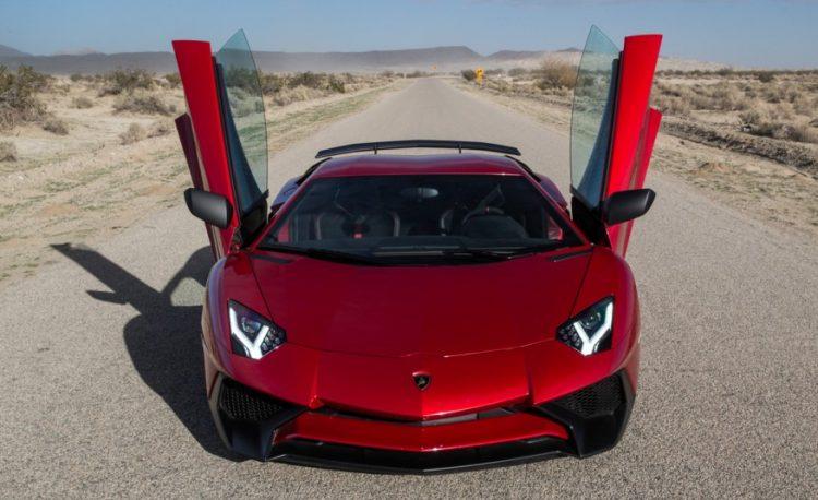 """Акулий"" взгляд Lamborghini Aventador Lp750"