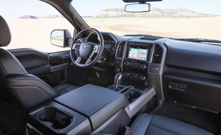 Технические характеристики Форд Раптор 2016-2017 года